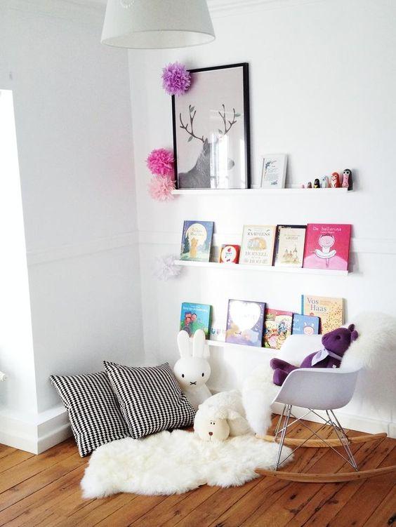 Como crear un rincón de lectura en una habitación infantil | Decorar tu casa es facilisimo.com