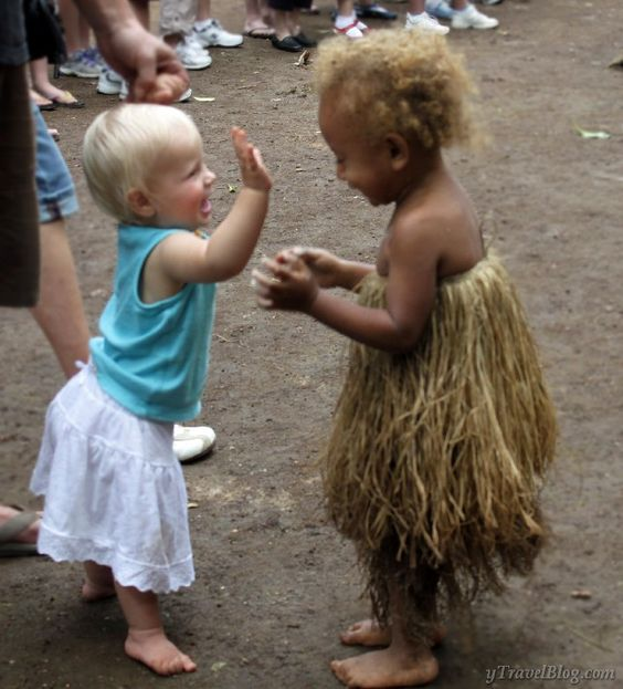 When Savannah met Alida at a cultural village in Vanuatu I cried: http://www.ytravelblog.com/vanuatu-village-savannah-alida/: