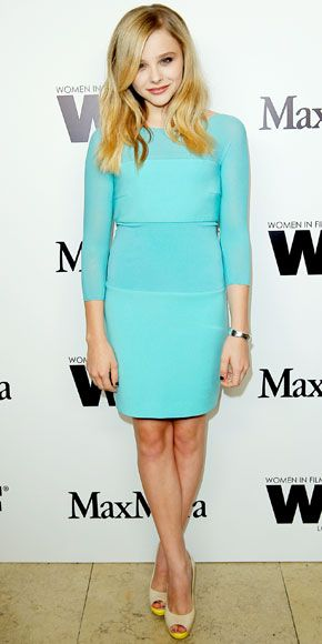 Chloe Moretz -Max Mara cocktail party,   2012. Max Mara.