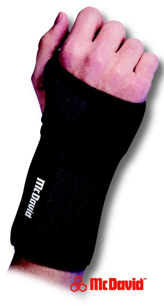 Handgelenkbandage 454 (Level 3) wird von Ärzten für die Rehabilitation empfohlen :: http://www.reviwell.at/de/therapie/therapie-mcdavid/handgelenkbandage-454-level-3.html