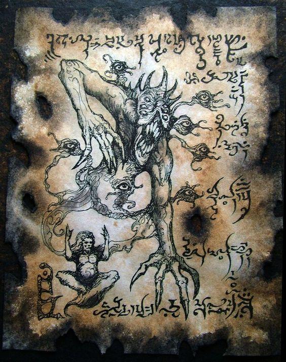 El Necronomicón,un libro salido de los infiernos 21b1bb2642c62129f4ac86db4db5de71