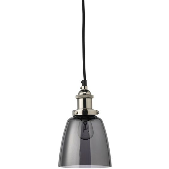 Jamie Young Factory Dome Smoke Pendant (€165) ❤ liked on Polyvore featuring home, lighting, ceiling lights, cord light, jamie young lighting, jamie young lamps, jamie young and cord lights