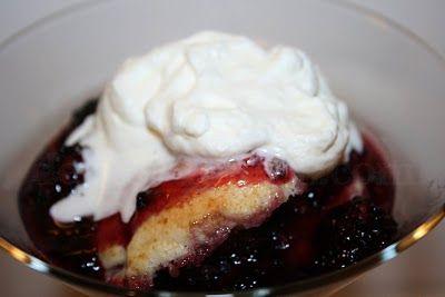 Deep South Dish: Blackberry Dumpling Cobbler