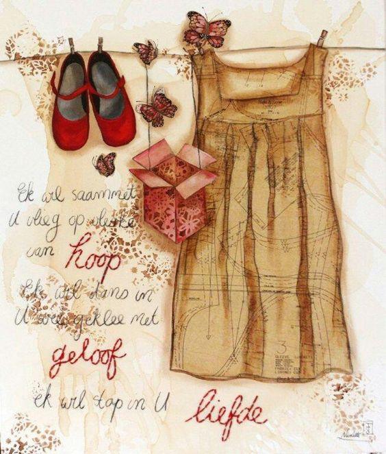 Geloof hoop liefde frik ns my h rtst l pinterest - Dressing liefde ...