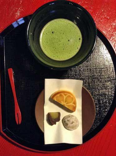 Matcha and Japanese Sweets, Sado Island.