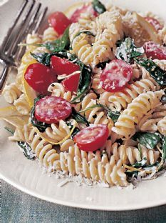 Lemon fusilli with arugula recipe asparagus worth it Ina garten summer pasta