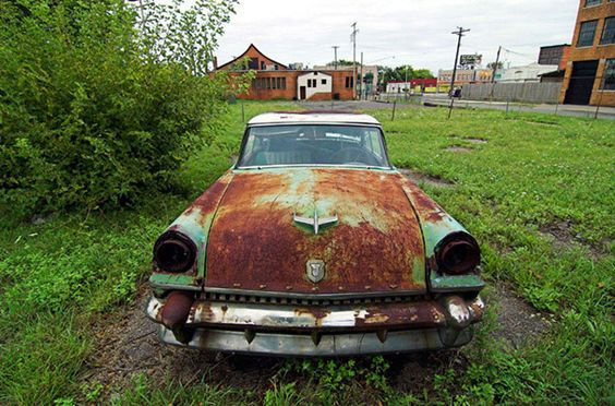 Abandoned vehicle, Detroit: Abandoned Urban, Detroit Desolate, Vehicle Detroit, Urban Decay, Abandoned Vehicles