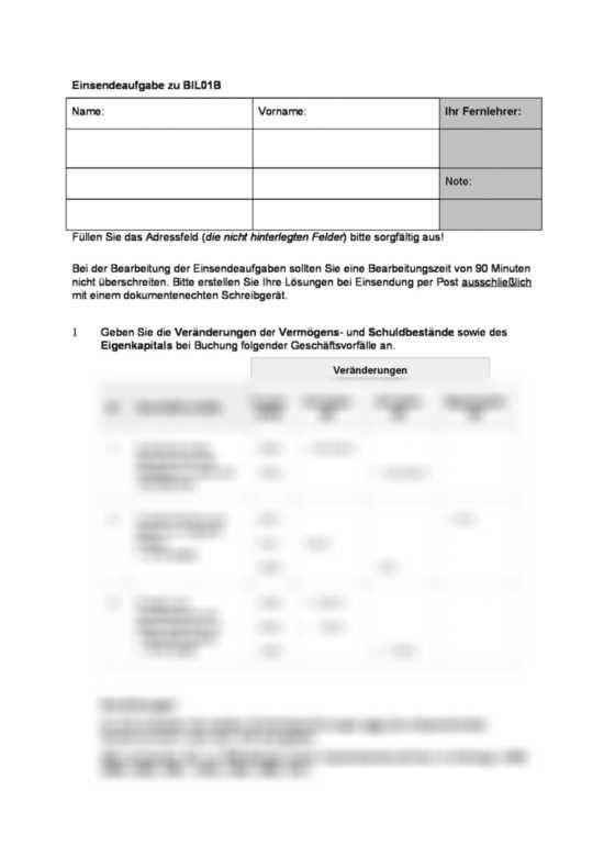 Einsendeaufgabe Ils Bilo1b Xx2 Betriebswirt Buchfuhrung Bilanzbuchhaltung Durchschnittlich Erzielt Sie Pro Jahr 1 Mio Buchfuhrung Betriebswirt Buchhaltung