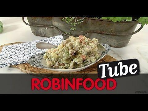 """ROBINFOOD / Ensaladilla rusa """"adelgazante"""" + Fresas con crema chantilly """"ligera"""" - YouTube"""