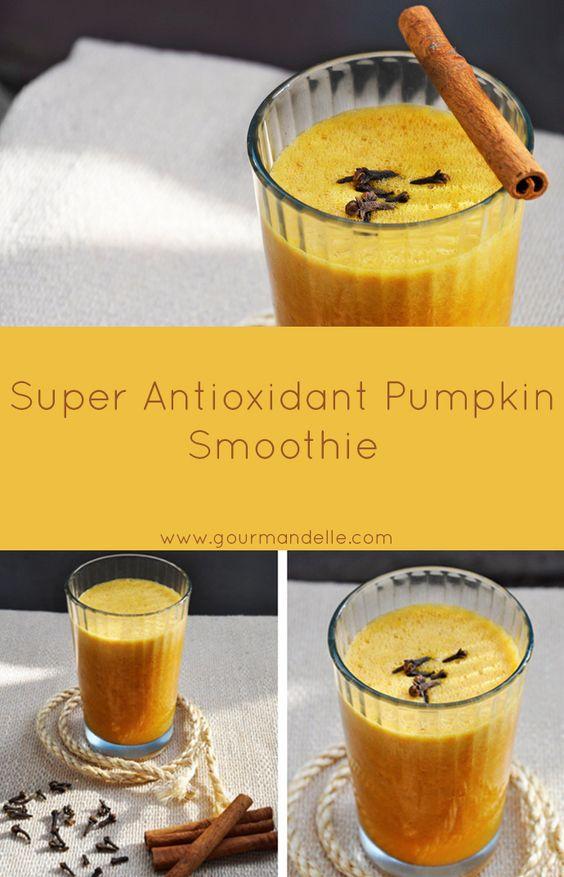 Antioxidant Pumpkin Smoothie | Recipe | Pumpkin Smoothie, Smoothie ...