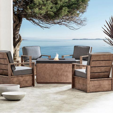 Member S Mark Java 5pc Fire Chat Set 2 299 Boutiqify Fire Pit Patio Set Fire Pit Patio Patio Set