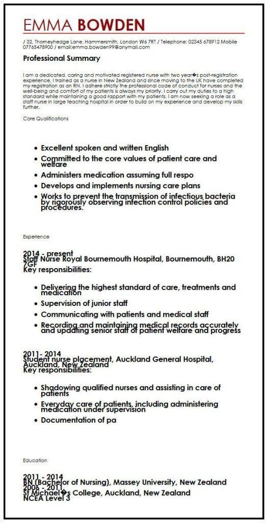 British Cv Example Myperfectcv Cv Template Resume Template Examples Online Resume Template