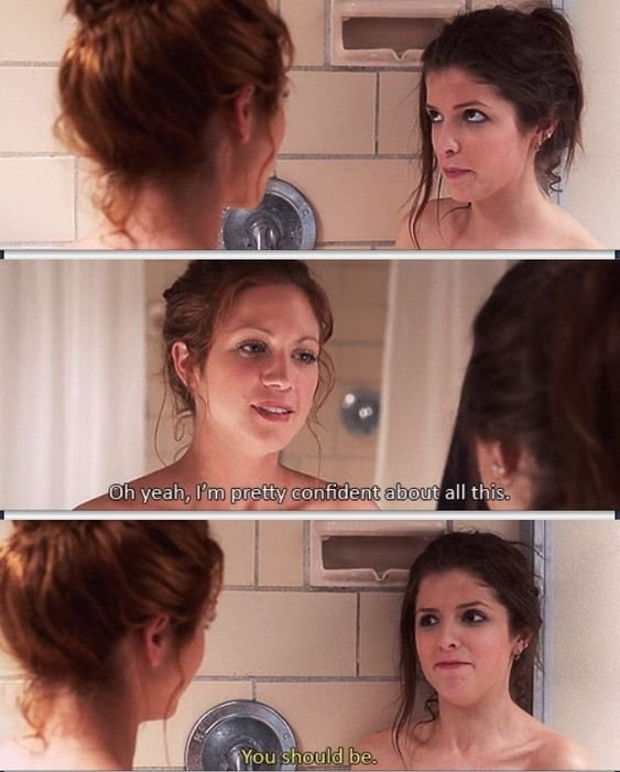 Perfect love the o 39 jays and funny on pinterest - Pitch perfect swimming pool scene ...