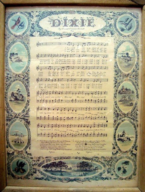 dixie - I love seeing this pop up on pinterest from time to time.  I just happened to get lucky and find a copy of this at an antique store a few years ago and when I pass by it in my house it always makes me smile!