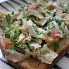 Light Chicken Salad Recipe | Food to Try | Pinterest | Salads, Chicken ...