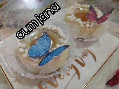 حلويات ام جنى الجزائرية جديد حلوة الفراشة بحشو رائع و منظر اكثر من ذلك Youtube Desserts Cake Food
