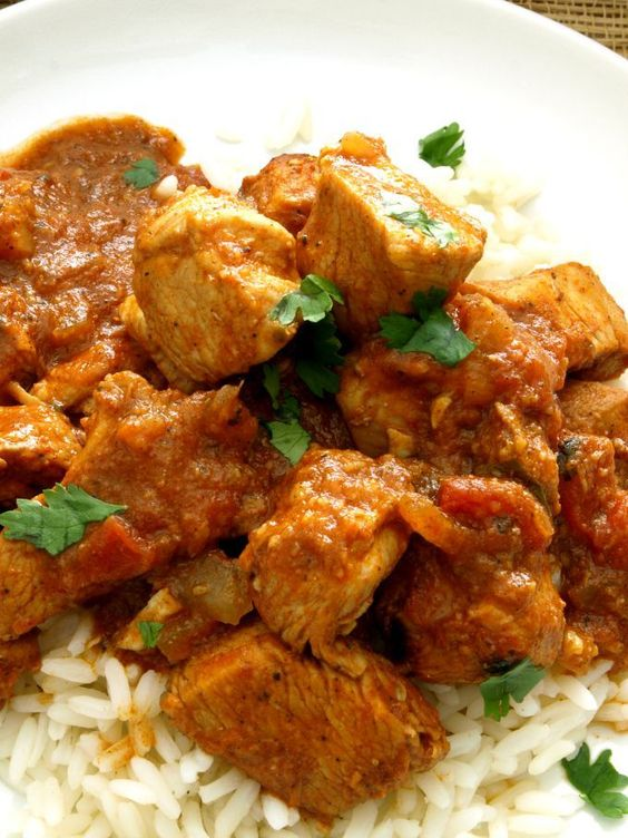 The tangy, spicy blend of vinegar and Indian curry spices in Vindaloo is sure to satisfy and it's made without a pre-made paste or sauce mix.