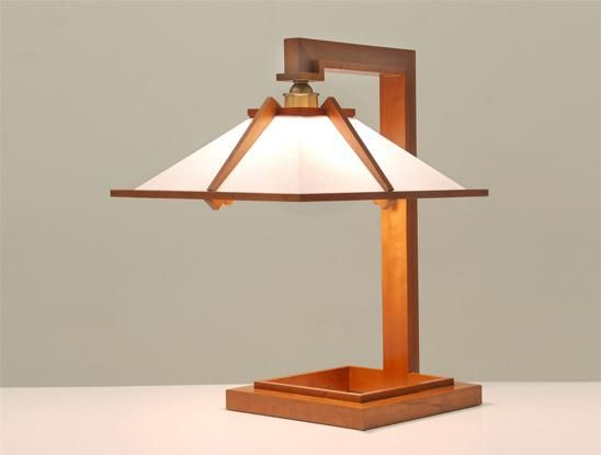 Taliesin 1 table lamp yamagiwa frank lloyd wright for Taliesin 1 table lamp
