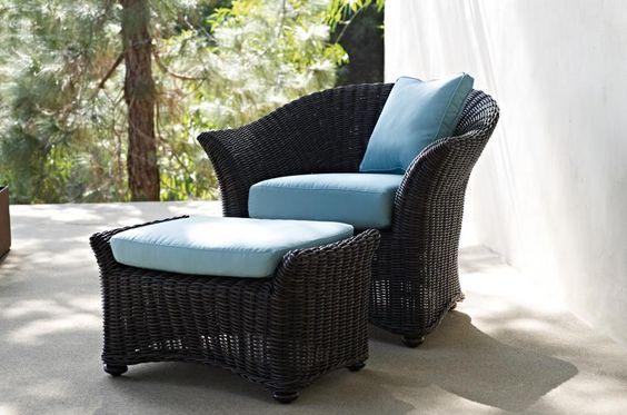 Beaufort Armchair & Ottoman | Gloster Furniture