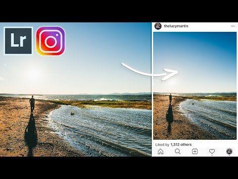 Lightroom aspect ratio for instagram