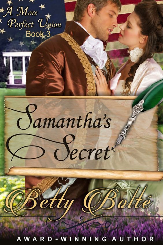 Cover Reveal for Samantha's Secret by Betty Bolté + Giveaway
