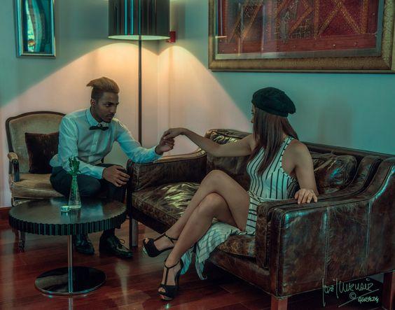 Lionella y Daniel Moreira