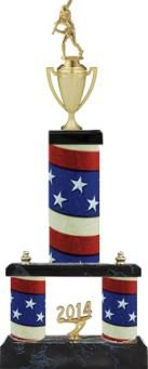 Our Tall #Baseball #Trophy Comes On A Black Base With An #American Flag Column Design. http://www.crownawards.com/StoreFront/TXXX45C.Baseball.Trophies.2_Tier_Riser_Trophies-Modular_Trophies.prod