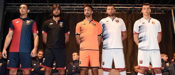 Ceci est le nouveau Maillot de foot Genoa CFC pas cher pour la saison 2016/2017;: