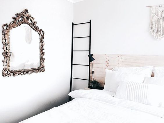 • M i r r o r  M i r r o r • • • • • Here's another photo to add for today! Placed a vintage mirror on the wall. What do you all think? • • •P.S. it's not round, but it still gives the room character. • • #different #saturday #today #weekend #mirror #mirrormirror #bedroom #bed #macrame #ikea #vintage #love #beautiful #dream_interiors #homeinspo #homedecor #interiordesign #interior4all #interior123 #interiorinspiration #interiorwarrior #interior_and_living #interiorandhome #interior9508…