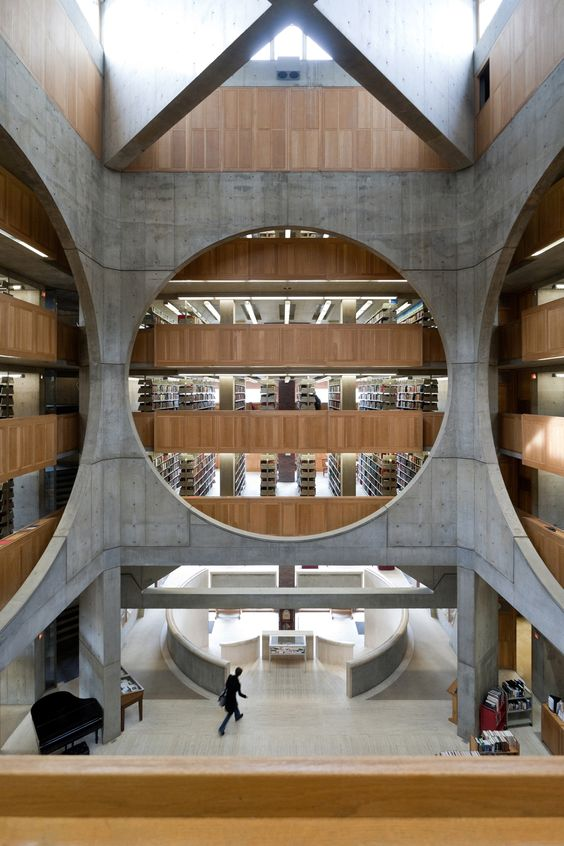 Library, Phillips Exeter Academy, Exeter, New Hampshire, Louis Kahn, 1965-72 © Iwan Baan