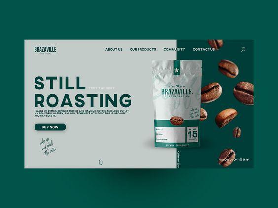 Dribbble website design ref ATD