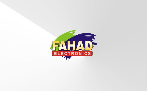 Fahad Electronics Logo  A solid logo design that uses simple elements and a subdued color palette to create a distinctive identity.