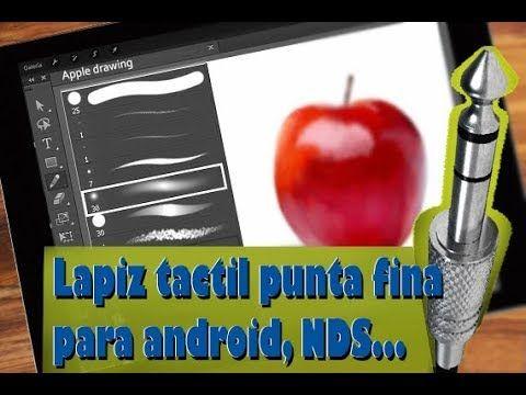 Como Hacer Un Lapiz Optico Casero Punta Fina Para Celulares Android Y Tablet 2020 Youtube Cómo Hacer Lapiz Trucos Para Android