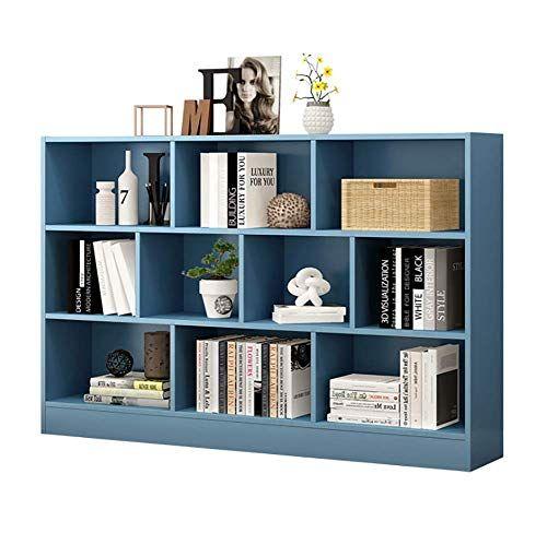 Bookcase Cube Storage Unit Cabinet Bookshelf Floor Standing Home