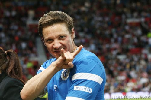 Jeremy Renner / Soccer Aid 2014