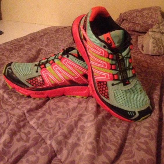 Salomon xr mission Speed lace with lace housing in tongue. Barely worn. Trail shoes. Shoes Athletic Shoes