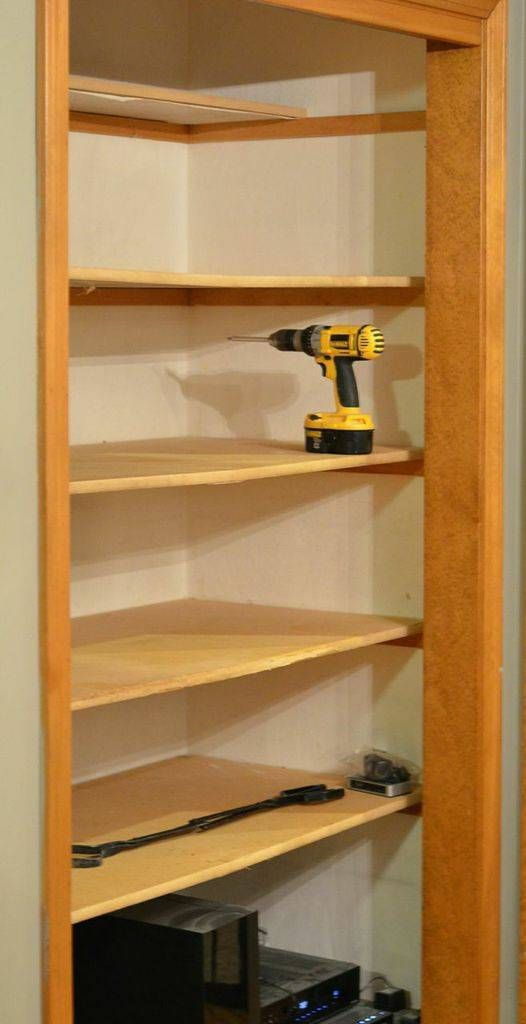 how to turn a plain cabinet into a hyper organized pantry Shelving Ideas DIY Painted Furniture Ideas
