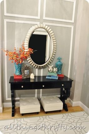 All Things Thrifty Home Accessories and Decor: Entryway Makeover Reveal!!