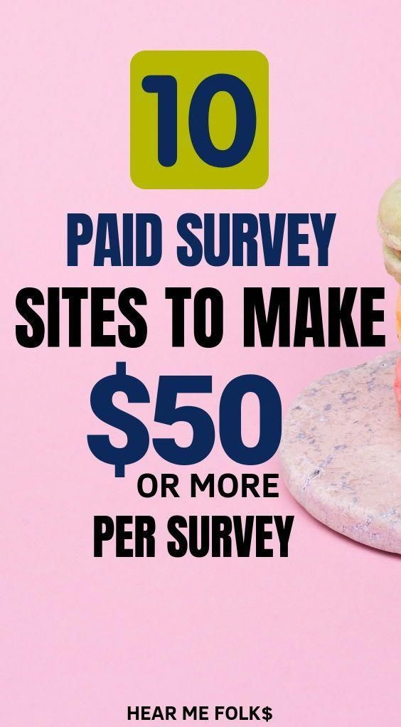 11 Legit Sites To Find Paid Online Surveys Worth Up To 50 Online Surveys That Pay Survey Sites That Pay Online Surveys For Money