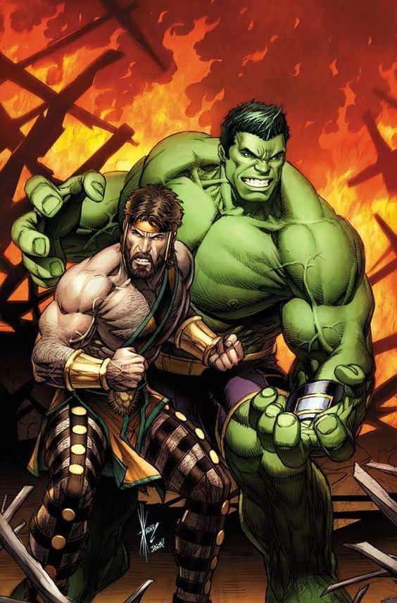 The Totally Awesome Hulk & Hercules - Dale Keown