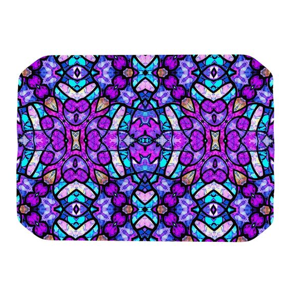 "Art Love Passion ""Kaleidoscope Dream Continued"" Purple Pink Place Mat"