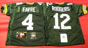 $644.44 GREATEST GREEN BAY PACKERS QUARTERBACKS FAN GIFT EVER!    FREE SHIPPING!    AUTOGRAPHED BRETT FAVRE & AARON RODGERS JERSEYS AAA    This lot is designed for THE PACKERS SUPER FAN! It is perfect for a Man Cave, Sports Bar, or Office. Why buy different pieces when you can buy it all at one time at wholesale prices?!? Give one gift for a Birthday, one for your Anniversary! It will be the gift he looks forward to getting. Included is a photo of Brett signing the number 4!