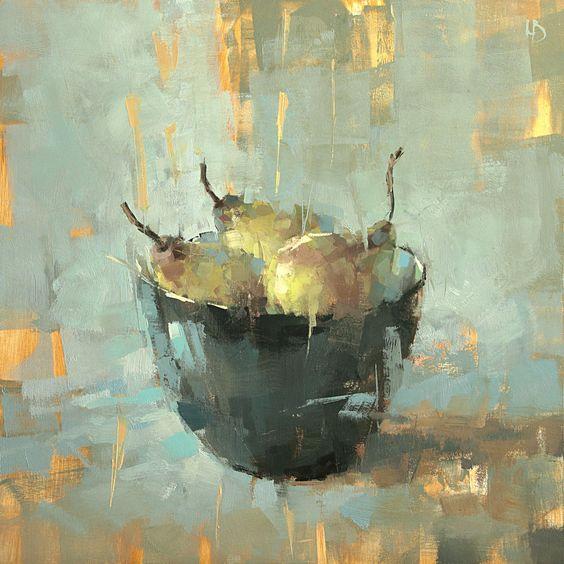Three pears, 2019