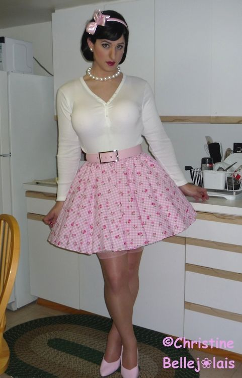 Sexy sissy boys in dresses workout has