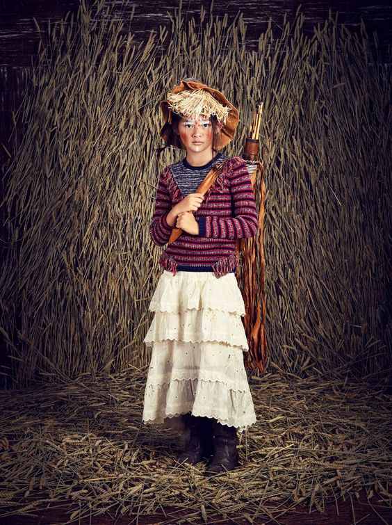 Scotch R'Belle mini me kidswear from the Scotch & Soda label for fall 2015
