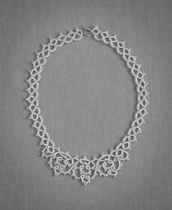 Adorlée Necklace  Bridal Necklace Bridal by TheLovedOneAtelier