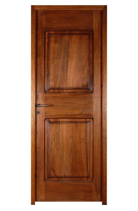 Porte mod le style louis xiii 2 panneaux moulures for Porte 5 panneaux