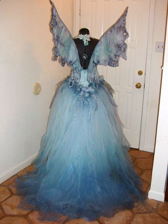 Water fairy by Fantasy Couture. I would dress up or Halloween, if I had money for costumes like this.