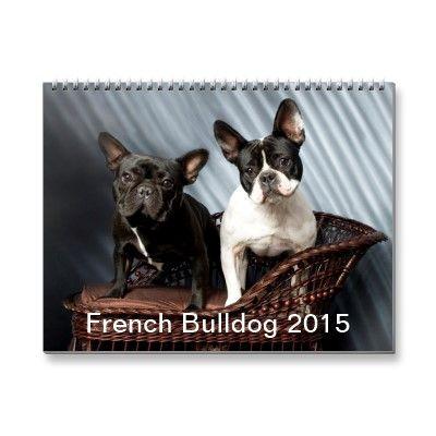 French Bulldog 2015 Calendar | Zazzle