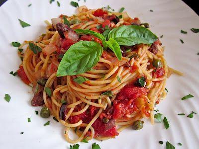 Pasta puttanesca | Recipe | Pasta Puttanesca, Pasta and Budget